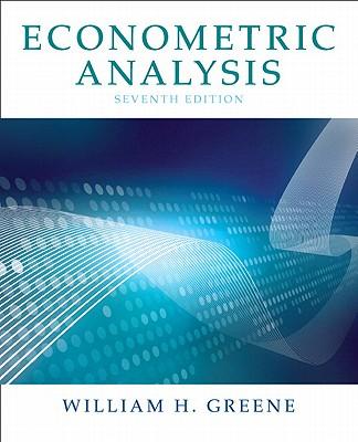 Econometric Analysis By Greene, William H.